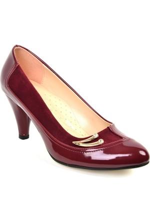 Kaplan ZN 102 Bayan Abiye&Bindallı Stiletto Ayakkabı