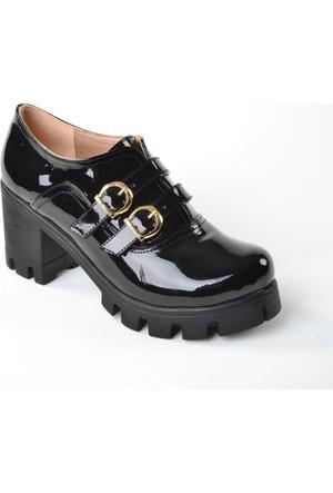 Byn Ayışıgı ZN Rugan Deri Bayan Ayakkabı