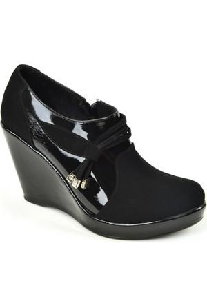 Ebru ZN Femuarlı Dolgu Topuk Kapalı Bayan Ayakkabı