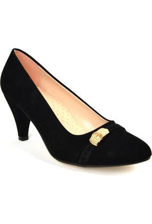 Kaplan ZN 103 Bayan Abiye&Bindallı Stiletto Ayakkabı