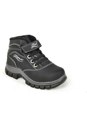 Zümrüt PT 021 Erkek Çocuk İçi Termal Kürk Bot Ayakkabı