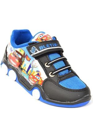 Bletix Pt Arabalı Işıklı Yazlık Günlük Erkek Çocuk Spor Ayakkabı