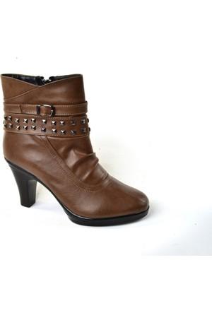 Sonimix ZN 5412 Topuklu Bayan Bot Ayakkabı