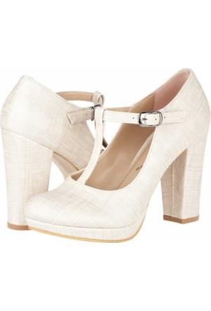 Primo Passo Aktenli Kadın Topuklu Ayakkabı