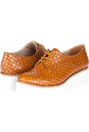 Yarım Elma Kadın Oxford Ayakkabı