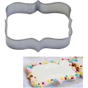 sweetsorcery dikdörtgen çerçeve modeli kurabiye kalıbı