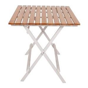 gadahome ahşap katlanır bahçe masası