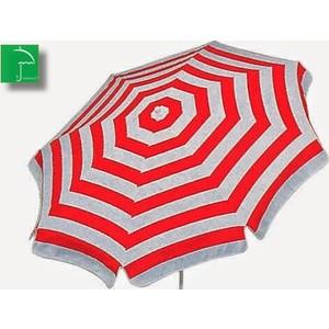 plaj kırmızı 220 cm 10 telli bahçe plaj şemsiye bidon hediyeli