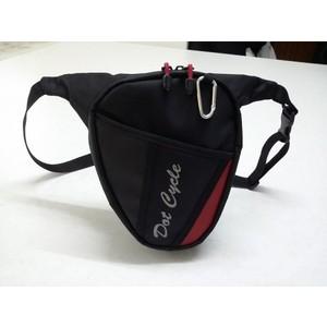 dot cycle motosiklet suya dayanıklı fermuar cepli bacak çantası