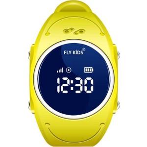 flykids akıllı çocuk telefonu - su geçirmez fly 300 - sarı