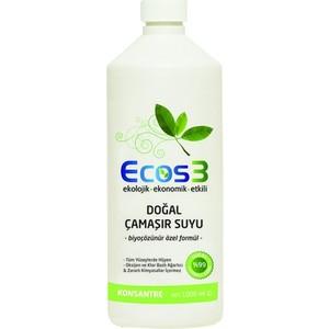 ecos3 doğal çamaşır suyu 1000 ml.