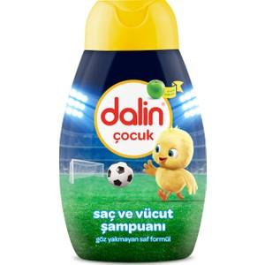 dalin kids saç ve vücut şampuanı elma 300 ml