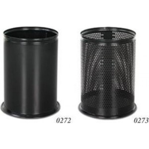 ikram dünyası dm ofis çöp kovası siyah delikli 12 lt.