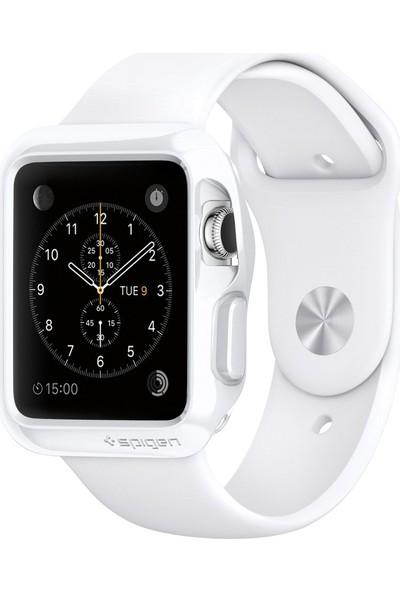 Spigen Apple Watch Kılıf Slim Armor (38Mm) Smooth White - 11557