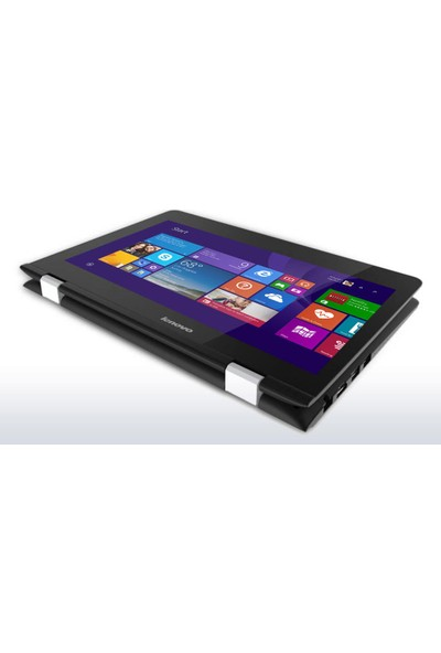 "Lenovo Yoga 300 Intel Celeron N3060 4GB 32GB eMMC Windows 10 Home 11.6"" Taşınabilir Bilgisayar 80M100RCTX"