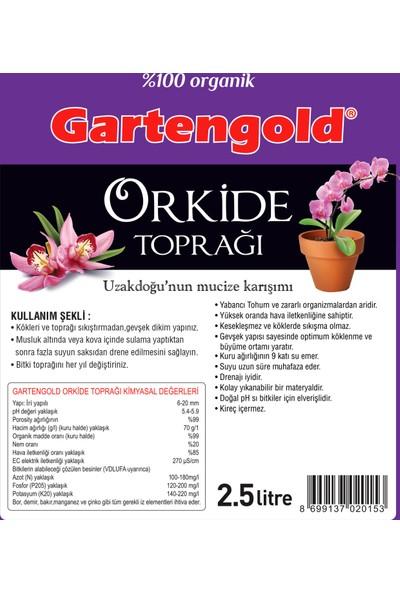 Gartengold Orkide Toprağı 2,5Lt.