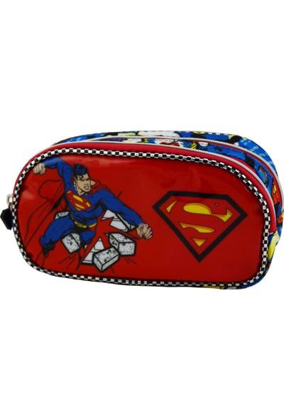 SUPERMAN PUNCH KALEM ÇANTASI FLEX