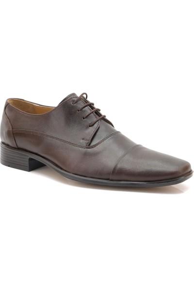 Sancappo Kahverengi Kesik Burun Günlük Ayakkabı
