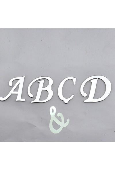 Tahtakale Toptancısı Alfabe Aynalı Pleksi 4 Cm - Flexi Harf (E)