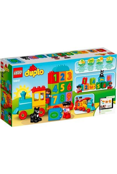 LEGO® DUPLO 10847 Sayı Treni Okul Öncesi Çocuk için Öğretici Oyuncak Yapım Seti