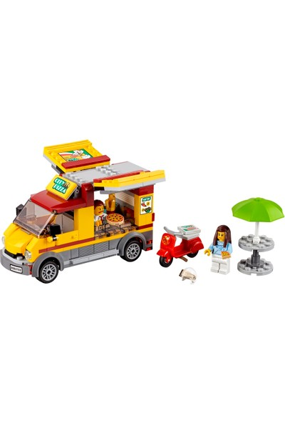 LEGO City 60150 Pizza Minibüsü