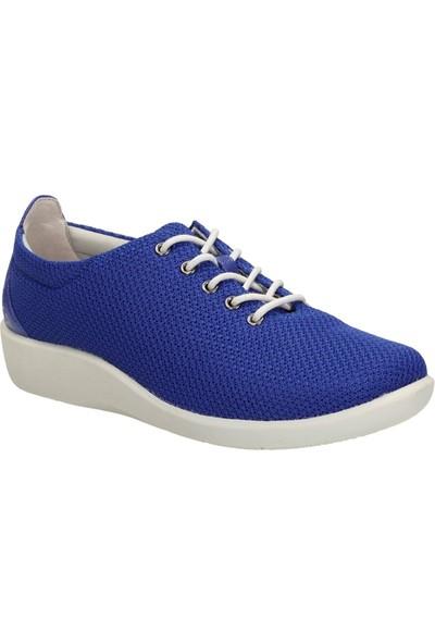 Clarks Sillian Tino Kadın Ayakkabı Mavi