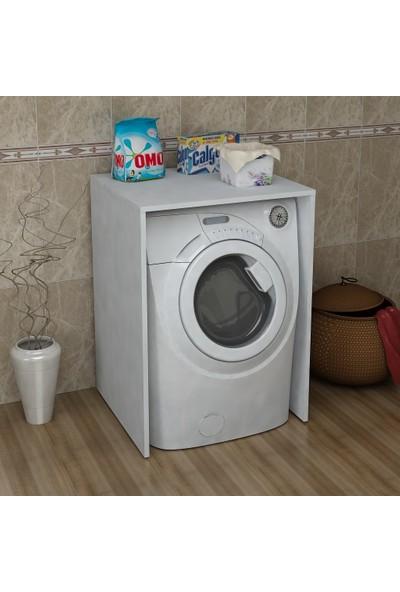 Sanal Mobilya Terni Çamaşır Makinesi Banyo Dolabı Alt Modül