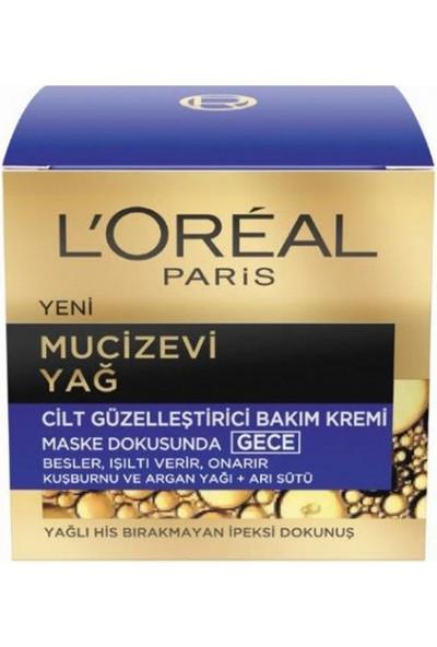 L'Oréal Paris Mucizevi Yağı Gece Kremi 50 ml