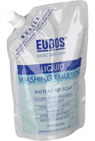 Eubos Washing Emulsion Sıvı Cilt Temizleyici Refil Ambalaj 400 ml