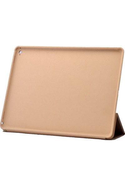 Kvy Apple iPad Pro 12,2 İnc Smartcover Deri Kılıf