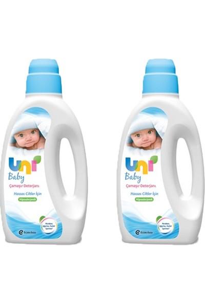 Uni Baby Bebek Deterjanı 2Li Set