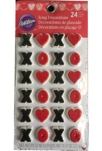 Wiltonwilton Yenilebilir Dekorasyon Şekeri Xoxo (22 Gr)
