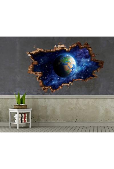 3D Art Dünya – 3D Sticker 70x45 cm