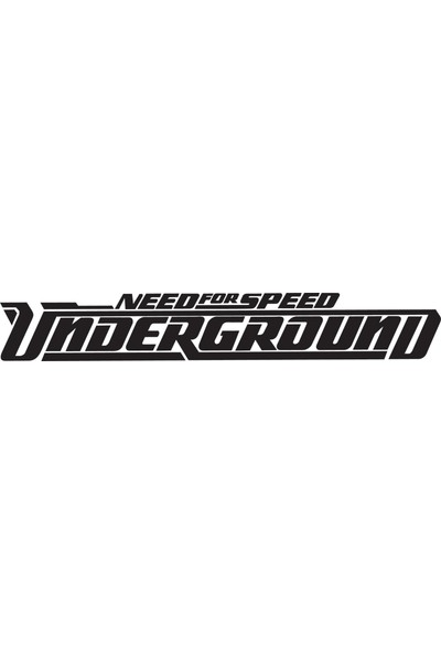 Smoke Nfs Underground Sticker