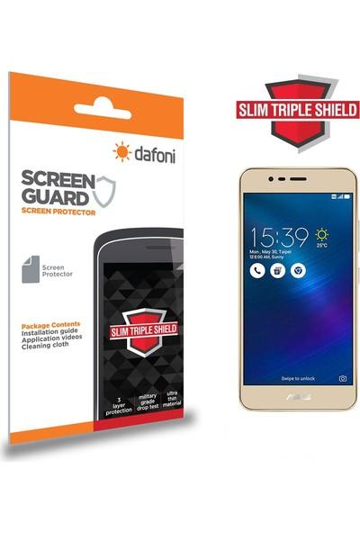 Dafoni Asus Zenfone 3 Max ZC520TL Slim Triple Shield Ekran Koruyucu
