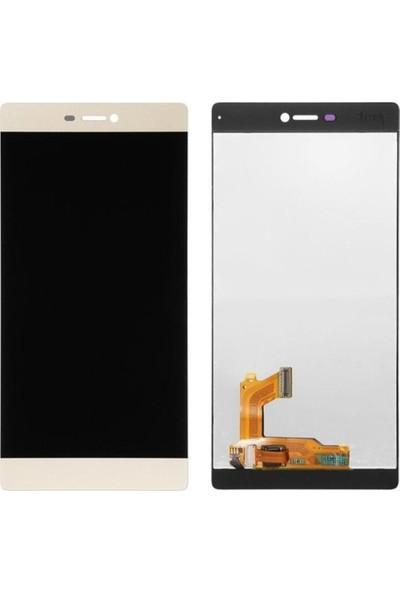 Casecrown Huawei P8 Ekran Dokunmatik - Gold