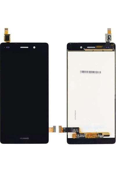 Casecrown Huawei P8 Lite Dokunmatik Lcd Ekran Panel Siyah