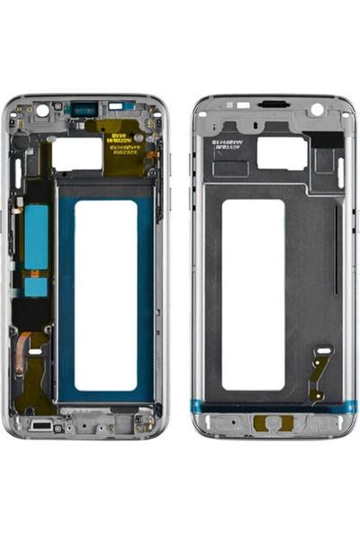 Casecrown Samsung Galaxy S7 Edge G935 Orj Orta Kasa - Gri