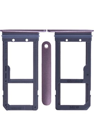 Casecrown Samsung Galaxy S7 Edge G935 Orj Sim Hafıza Kart Kapağı -Bronz