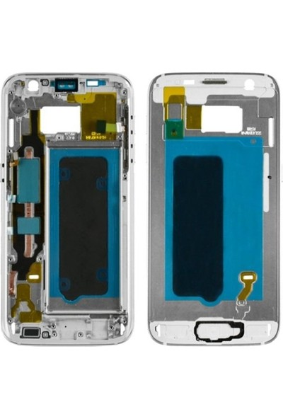 Casecrown Samsung Galaxy S7 G930 Orj Orta Kasa - Gri