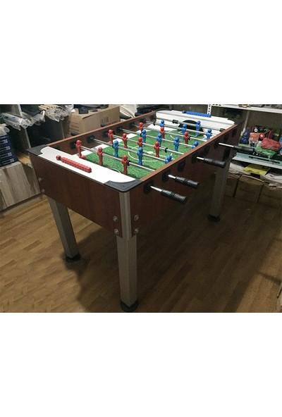 Kral Bilardo Langırt Masası - Masa Futbolu ( Üstü Kapalı ) Tamperli Cam