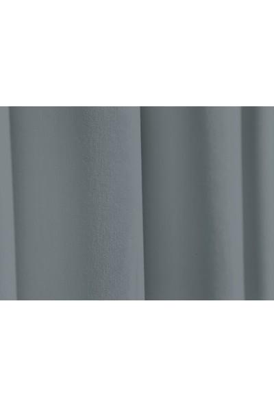 Apolena Dekoratif Fon Perde 140 X 270 Cm 708-Z754/1 Gri