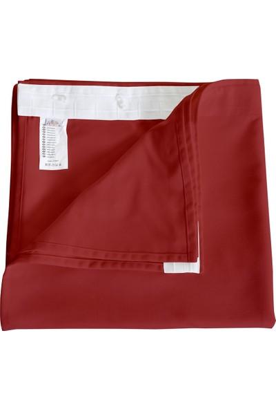 Apolena Dekoratif Fon Perde 140 X 270 Cm 708-Z760/1 Kırmızı