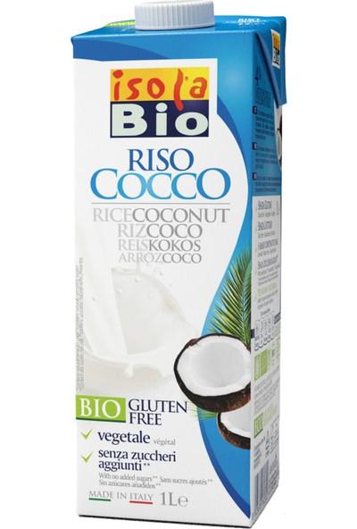 İsola Bio Organik Glutensiz ve Şekersiz Hindistan Cevizli Pirinç İçeceği 1L