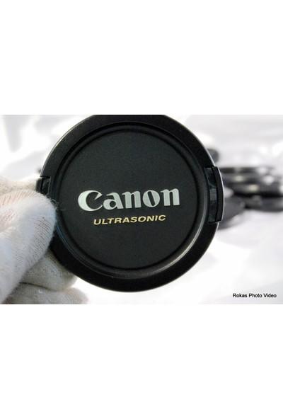 Canon 58Mm Snap On Ultrasonic Lens Kapağı, Objektif Kapağı