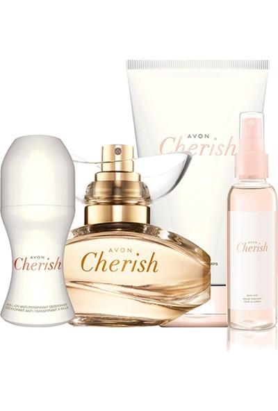 Avon Cherish Dörtlü Kadın Parfüm Set