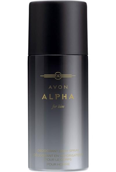 Avon Alpha 75 Ml Erkek Deodorant