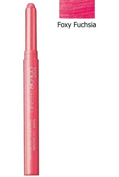 Avon Color Trend Lip Stix Ruj Foxy Fuchsia