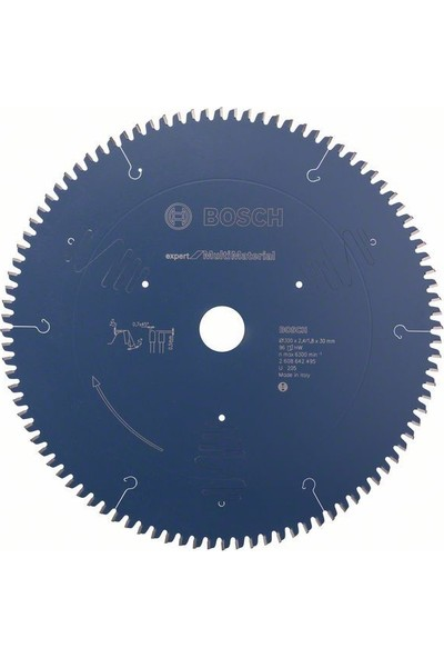 Bosch Expert For Multimaterial 300 x 30 Mm 96 D 2608642495
