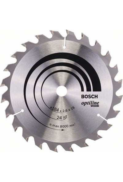 Bosch Optiline Wood 184 x 16 Mm 24 Diş 2608640817